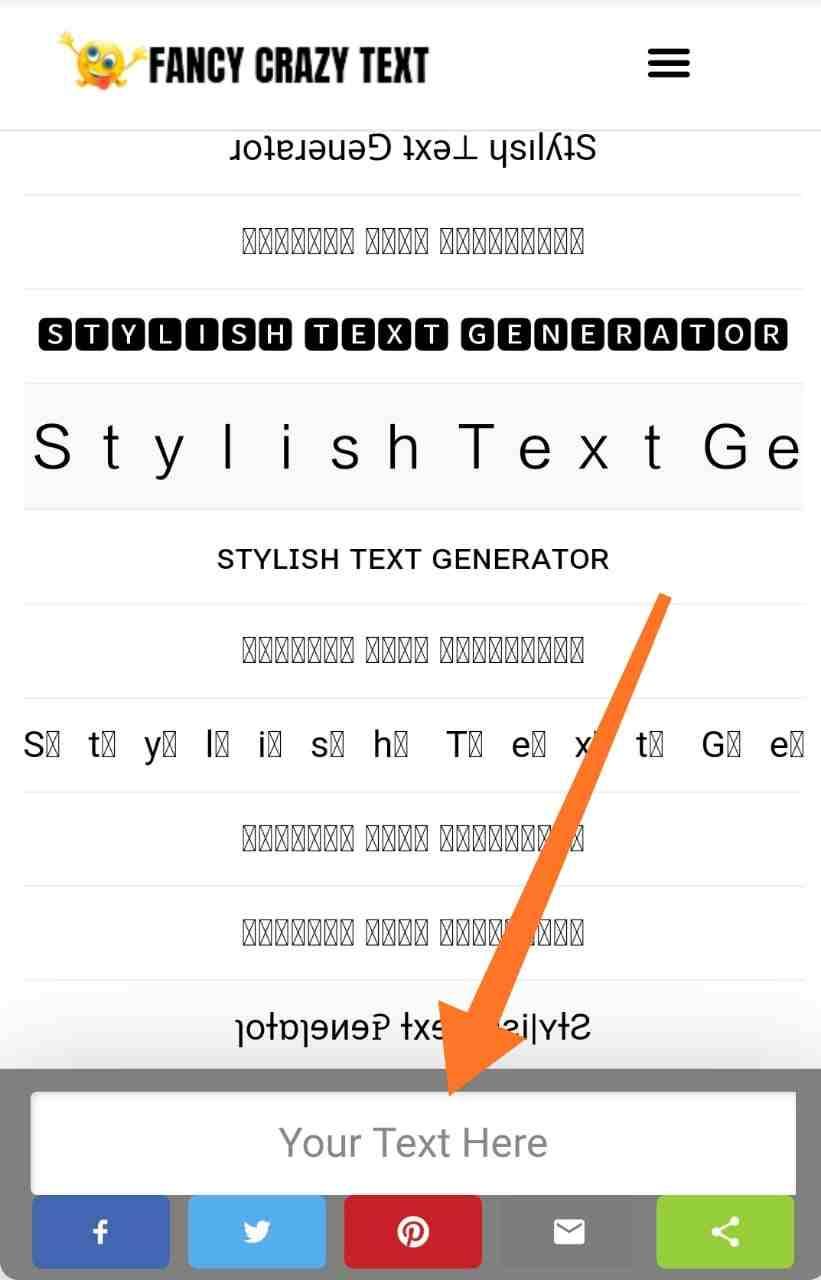fancy cool text generator